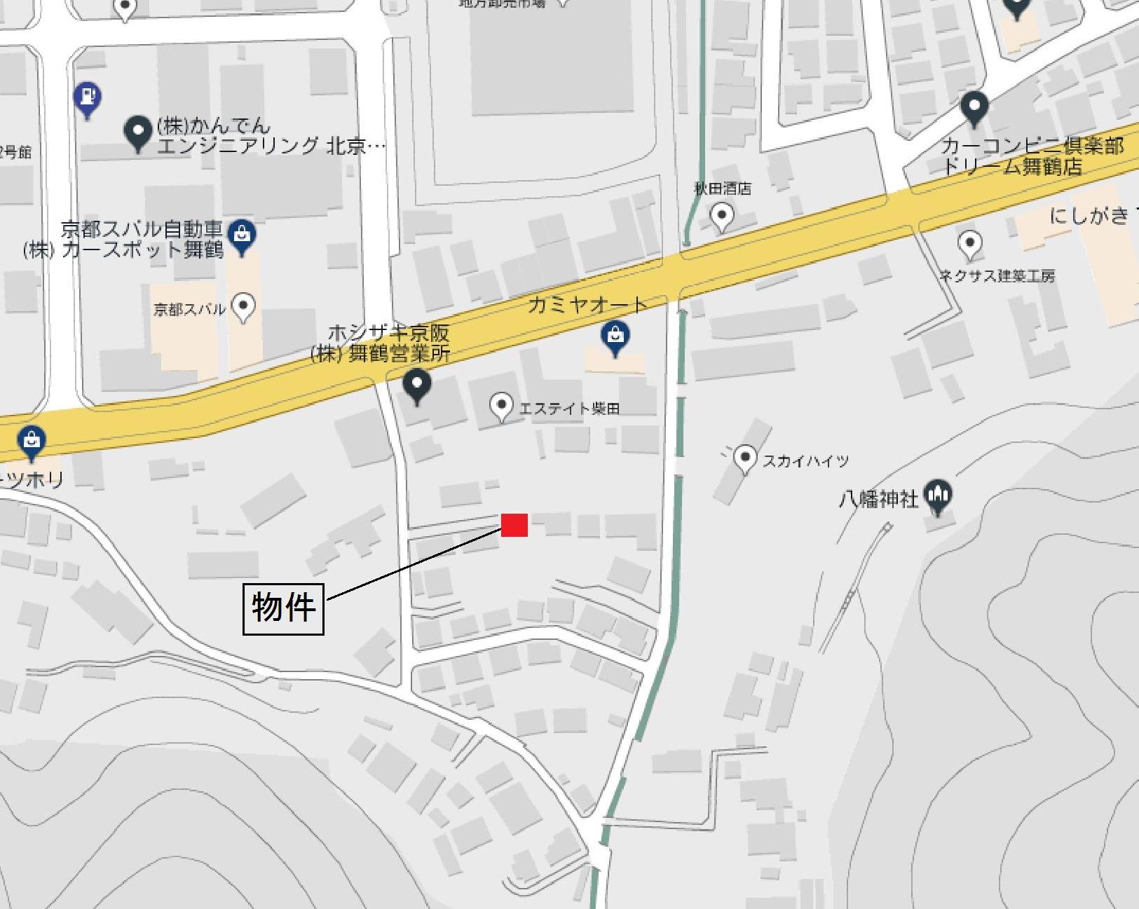 下福井105-4(塩田様)地図