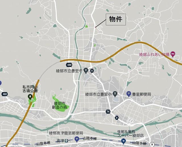 s-綾部市舘町35-4(芦田) 地図2